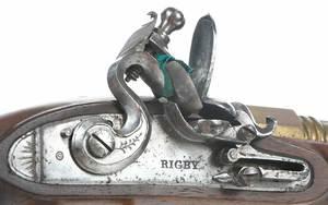 Rigby Flintlock Pistol