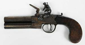 T. Ketland & Co. Flintlock Double Barrel Pistol