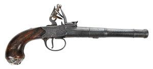 Joyner Flintlock Cannon Barrel Pistol