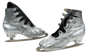 Ice Skates Worn by Charlotte Oelschagel