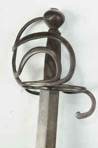 Antique Continental Cut and Thrust Sword