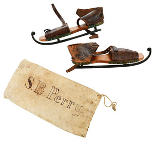 Pair William Morse & Co. Ice Skates