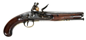 British Army Flintlock Pistol