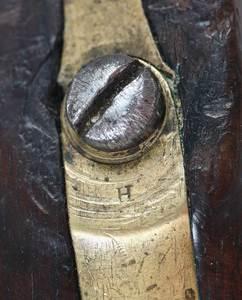 Two H. Aston Percussion Pistols Model 1842