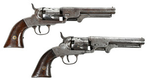Two Bacon Arms Pocket Revolvers Civil War Era