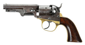 Cooper Navy Model Double Action Revolver