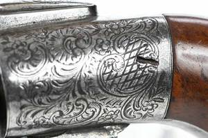Ring Trigger Engraved Percussion Revolver