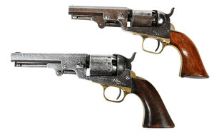 Two Colt Model Percussion Revolvers