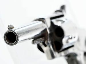 Three Small Spur Trigger Pistols