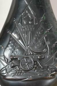 Eight Civil War Style Powder Flasks