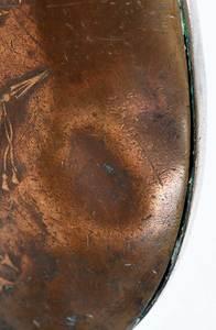 Two Civil War Era Batty Powder Flasks