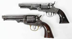 Two Black Powder Revolvers