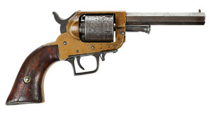 E. Whitney Two Trigger Five Shot Revolver