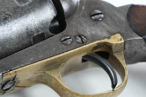 E. Whitney Cap and Ball Revolver