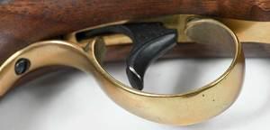 Three Deringer Percussion Pistols, One New