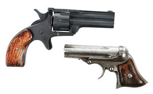Two Small Pistols Duplex, Remington