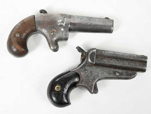 Two Small Pistols Sharps/Hanks, National Arms