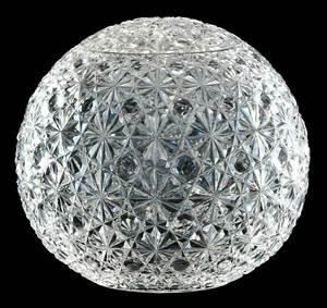 Large Cut Glass Lamp Shade Globe