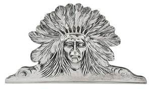 Sterling Native American Desk Clip