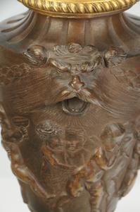 Pair Louis XVI Style Gilt Bronze Candelabra