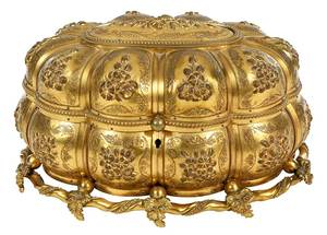 Grand Tour Gilt Scent Casket