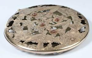 Boucheron Silver Powder Compact