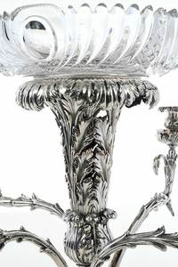 Old Sheffield Plate Plateau and Epergne