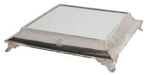 NAAFI Silver Plate Plateau, Crate