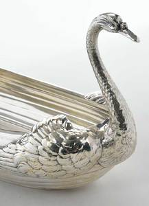 Gorham Sterling Swan Centerpiece and Bowls