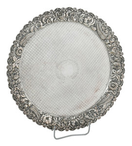 Baltimore Sterling Repousse Tray