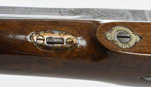 Fine Pair Percussion Pistols in Cased Set