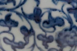 Large Chinese Blue and White Inkstone