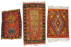 Three Sivas Kilims
