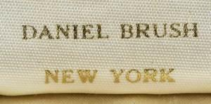 Daniel Brush 22kt. Diamond & Resin Brooch