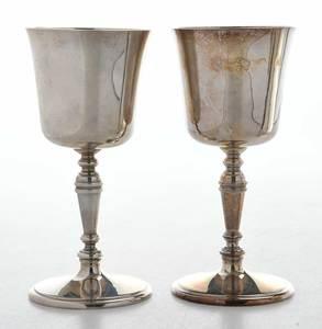 Three English Silver Items