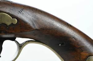Two Georgian Flintlock Pistols