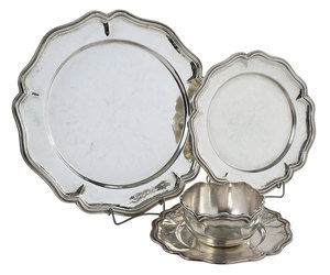 32 Piece Silver Hollowware