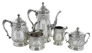 Five Piece Sterling Coffee Service