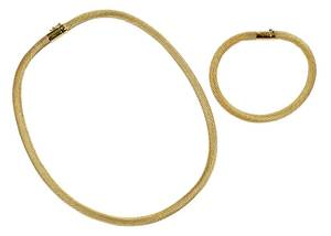 14kt. Necklace and Bracelet