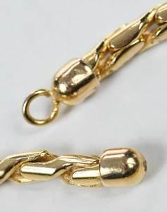 Ten 14kt. Gold Chains
