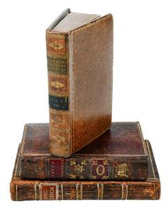 Three Leather-bound Sets of Books, 40 Books