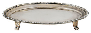 Jacobi & Jenkins Coin Silver Tray