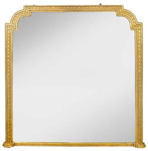 Louis XVI Style Carved Gilt Wood Mirror