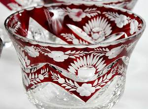 Rare Ruby Cut to Clear Punch set