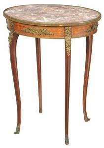 Louis XV Style Ormolu-Mounted Side Table