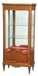 Fine Louis XVI Style Bronze-Mounted Cabinet