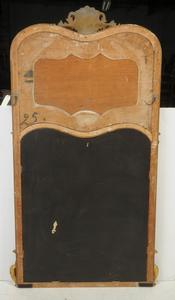 Louis XV Style Parcel-Gilt Trumeau Mirror