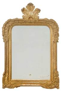 Louis Philippe Carved and Gilt Wood Mirror