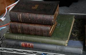 38 Assorted Books, Some Leatherbound