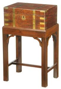 Georgian Rosewood Lapdesk on Frame